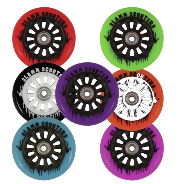 100mm Slamm Plastikratas - erinevad värvid-0