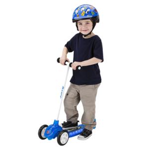 LED Tuledega Razor Jr Lil Tek - kolmerattaline sinine tõukeratas -0