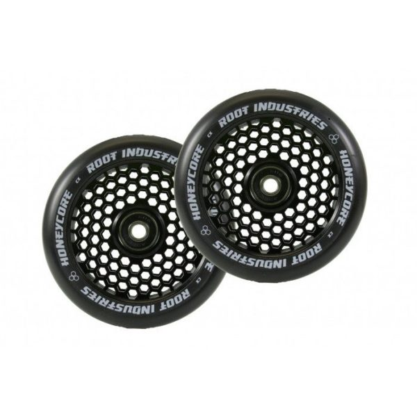 120mm Root Honeycore Rattad 2tk pakis, must kumm -erinevad värvid-0